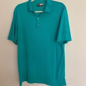 Callaway golf polo Sea Green size M